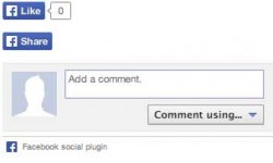 New Facebook Social Sharing Plugin